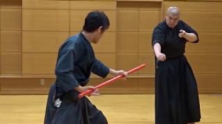 290514 素手vs棒術(1対1)TAKE×PIKA (samurai sword battle action)