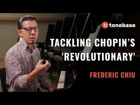 "Frederic Chiu Teaches Chopin's ""Revolutionary"" Étude"