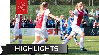Highlights Ajax Vrouwen - PEC Zwolle