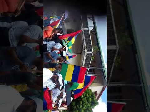 Carnaval 50th anniversary independence of mauritius at Mahebourg