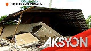 Natabunan ng landslide sa Pampanga