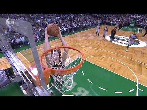 Cedi Osman blows an easy dunk | Cavaliers vs Celtics | Feb 11, 2018