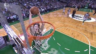 Cedi Osman blows an easy dunk | Cavaliers vs Celtics | Feb 11, 2018