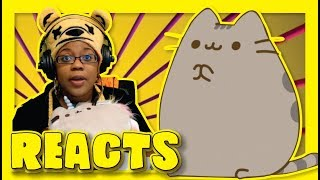 PUSHEEN'S VALENTINE #pusheensvalentine by Jess the Dragoon | Animation Reaction