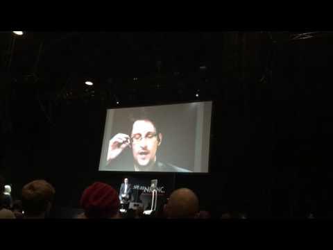 An Evening With Edward Snowden
