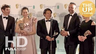 Free Solo: Best Documentary at BAFTAs 2019 with Jimmy Chin, Alex Honnold, Elizabeth Chai Vasarhelyi