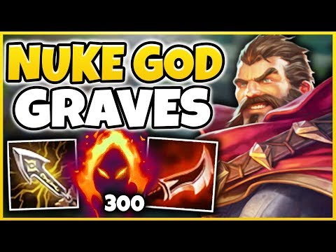 THIS IS THE MOST ABSURD DAMAGE EVER! ONE AUTO = ONE KILL GRAVES ONE-SHOTS!!! - League of Legends