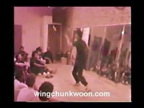 William Cheung - Wing Chun 2nd form 1984 NYC