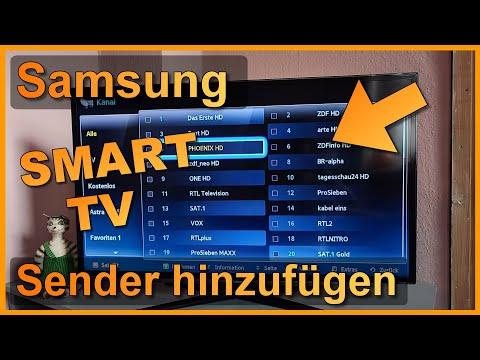samsung tv sender einstellen kabel