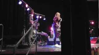 Pink - Sober Saxophon Improvisation Solo - Rock am Albers 7 - 23.03.2012