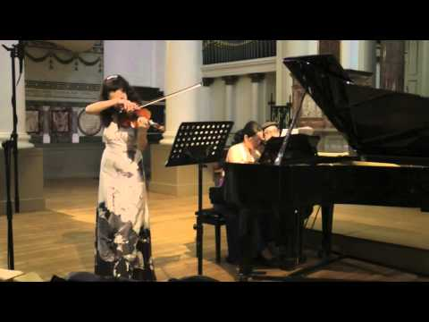 Grieg, Sonata for Violin and Piano No.3 in C minor, Ani Batikian (part 1)