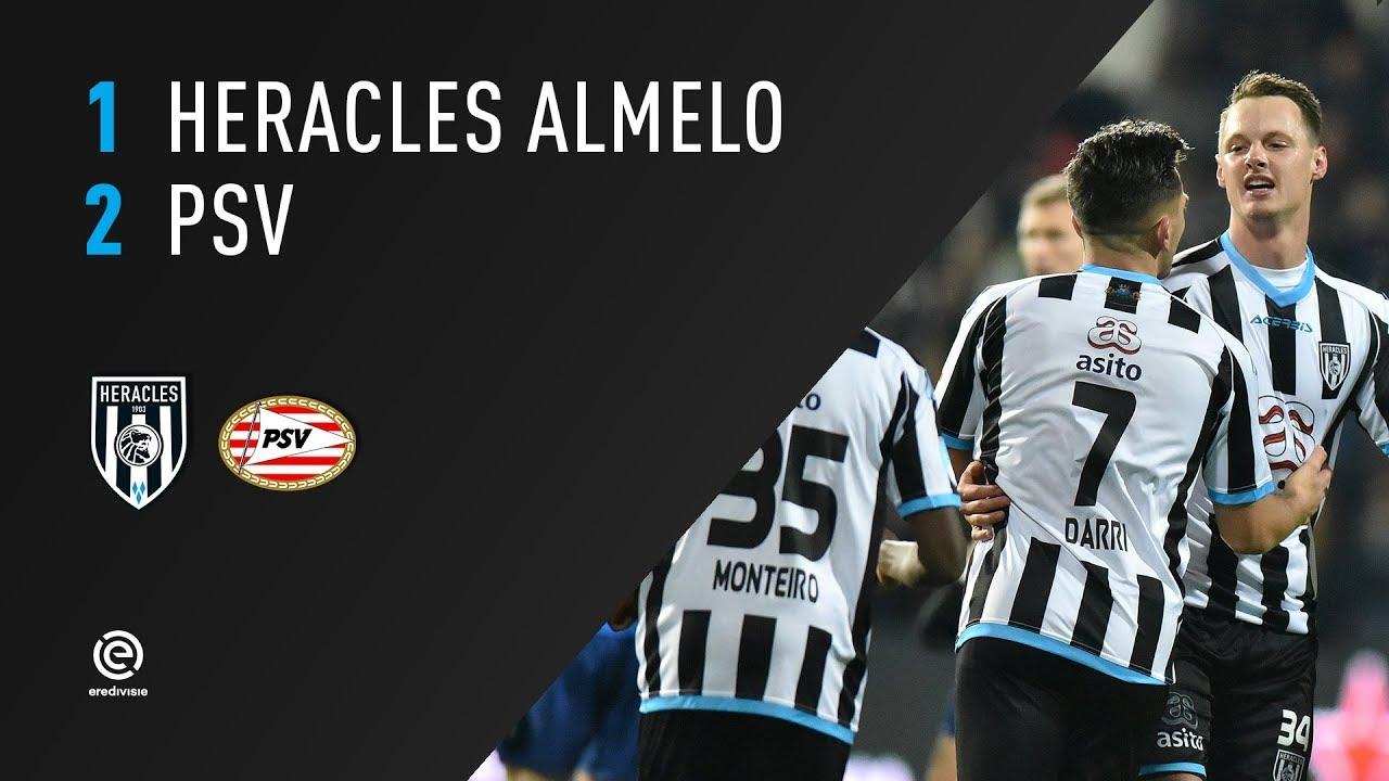 Heracles Almelo - PSV 1-2 | 21-01-2018 | Samenvatting