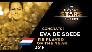2019 Fih Player Of The Year Women   Eva De Goede