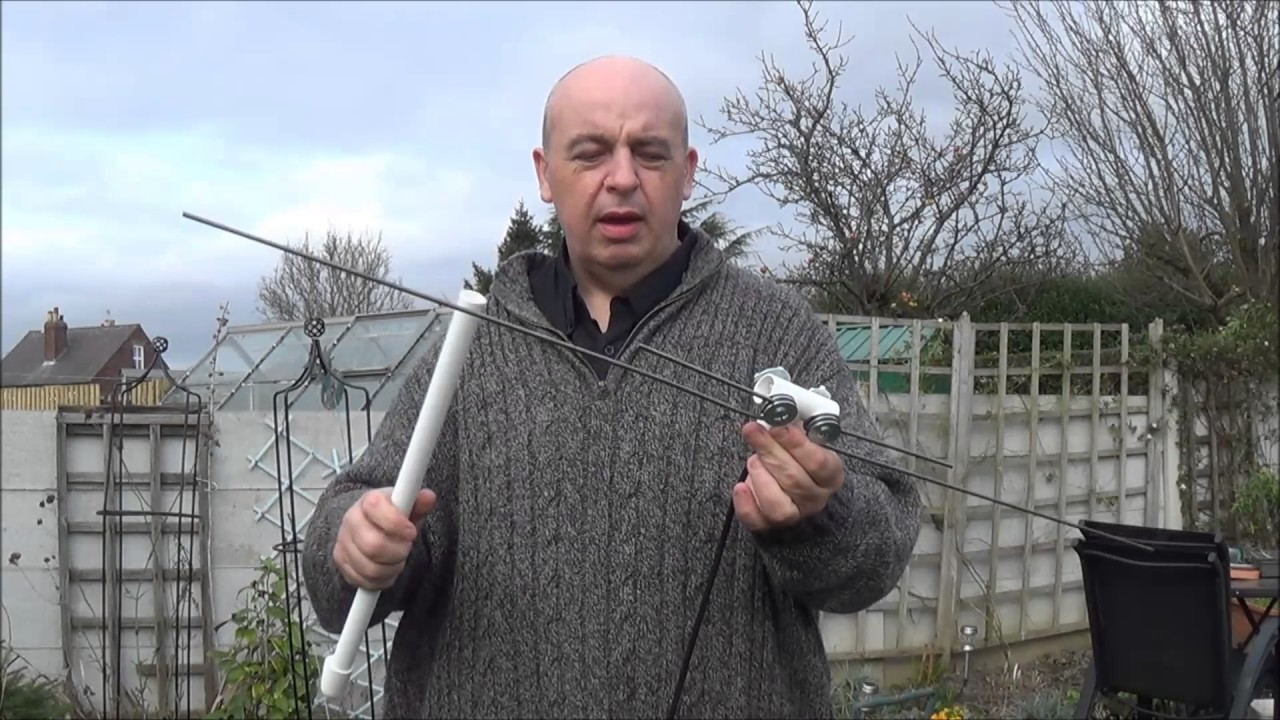 Simple to make 2m/70cm antenna project for portable use