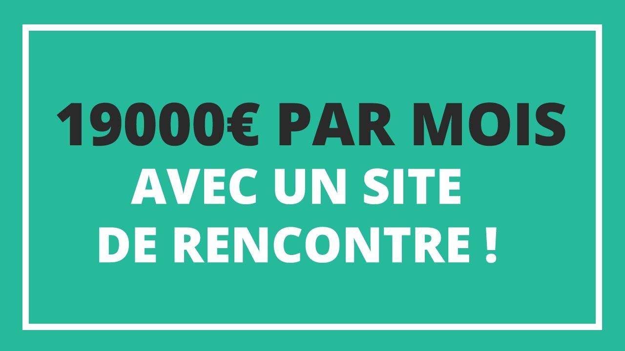 🚀 19000€ par mois avec un site de rencontre !