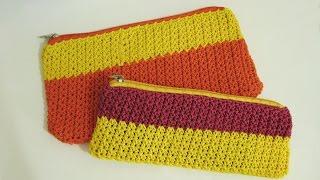 Video Crochet    Cara Mudah Memasang Resleting Pada Rajutan - Merajut Tempat Pensil Bagi Pemula download MP3, 3GP, MP4, WEBM, AVI, FLV Mei 2018