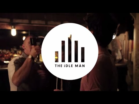 Behind the scenes with THE IDLE MAN - 4Music Ad Campaign