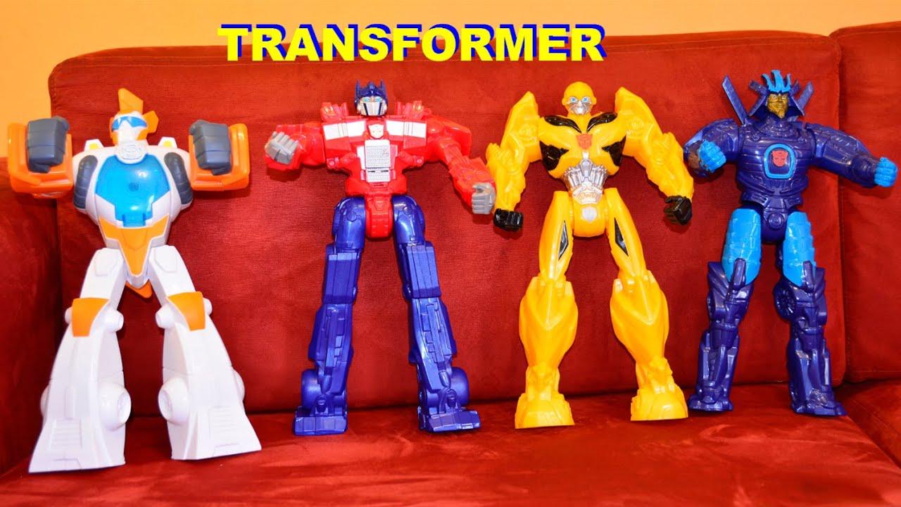 Juegos de Transformers 4 Optimus Prime Bumblebee Transformers