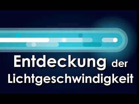 Die Entdeckung der Lichtgeschwindigkeit - Schnellgedacht