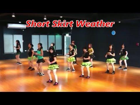 Short Skirt Weather (by Lisa M. & Tracy H.) - Line Dance (Demo & Walkthru) ~ 短裙天氣 - 排舞(含導跳) 4K