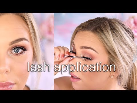 False Lash Application For Beginners - Quick & Easy! thumbnail