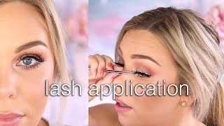 False Lash Application For Beginners - Quick & Easy!
