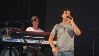 Lukas Graham - Take the world by storm @pinkpop 10-6-16