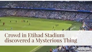 Etihad Stadium Melbourne Atmosphere | Manchester City v Huddersfield Premier League 06 May 2018