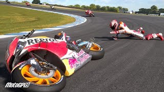 MotoGP 19 Crash Compilation