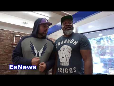 What Does Shannon Briggs Think Of James Toney EsNews Boxing