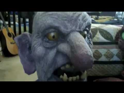 Giant Halloween Troll and Creature costume Update2 & Giant Halloween Troll and Creature costume Update2 - YouTube