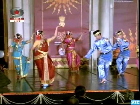Cultural Program at Rashtrapati Bhawan during ASEAN-India Commemorative Summit