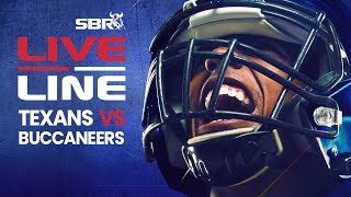 Texans vs. Buccaneers In-Game Betting & Odds Analysis | Live Line