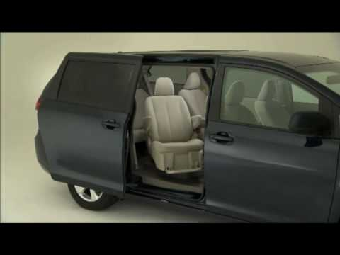 New toyota sienna 2011 auto access seat system youtube for Should i buy a toyota sienna or honda odyssey