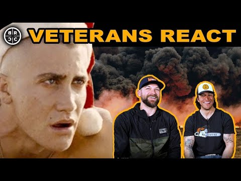 Marine Scout Snipers React to WAR Movies: EP13