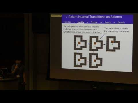 ICAPS 2017: Automatic Extraction of Axioms for Planning