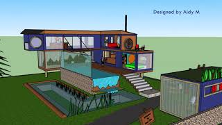 Luxury Shipping Container House - Building Amazing Homes & Mobile Spaces Using Shipping Containers