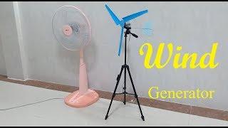 Free energy generator , How to make a mini wind turbine generator
