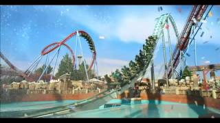 TVC PORT AVENTURA - 20 years of Port Aventura sung by Alex Warner