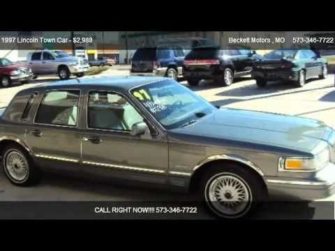 1997 Lincoln Town Car Signature For Sale In Camdenton Mo 65020
