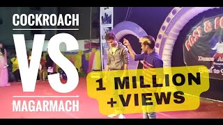 Cockroach vs Magarmach (Raghav Juyal) (shahrukh shaikh)slow motion n freestyle Dance