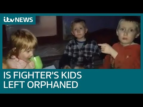 Young children of Swedish IS fighter left orphaned in caliphate | ITV News