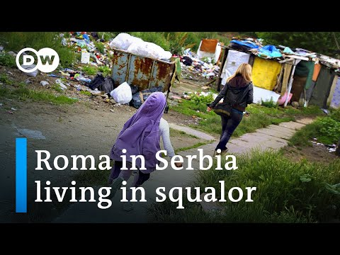 Roma in Serbia struggle in squalid living conditions | DW News