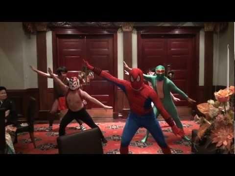 【結婚式余興】  Spiderman / DJ OZMA  【サメ・ヨネ】