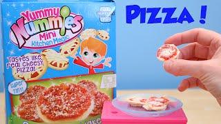 Make Mini Pizza's With Yummy Nummy Mini Kitchen Magic Diy Maker!