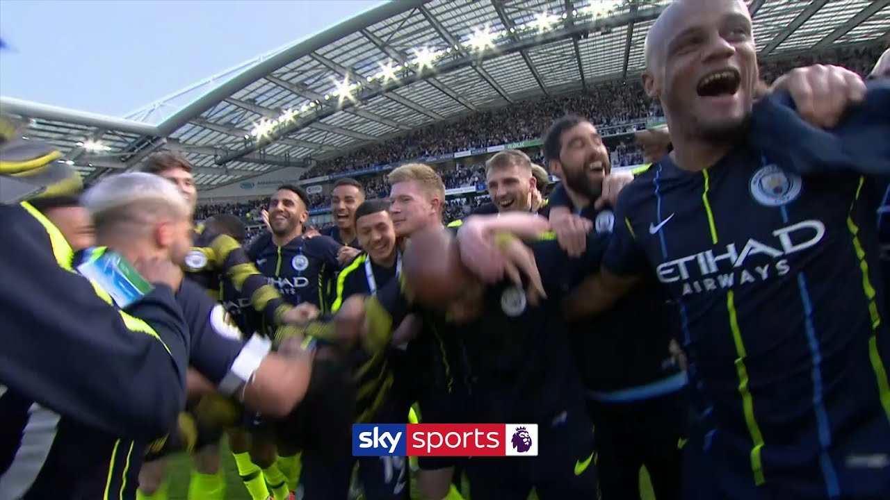 City win back to back Premier League titles!