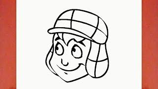 Como desenhar o Chaves em Desenho Animado (personagem) - How to Draw El Chavo: The Animated Series