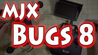 MJX Bugs 8 Review & FPV Demo 🐝💡📺