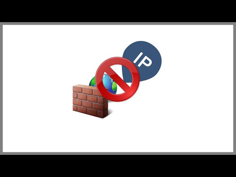 How to block website IP address in windows firewall