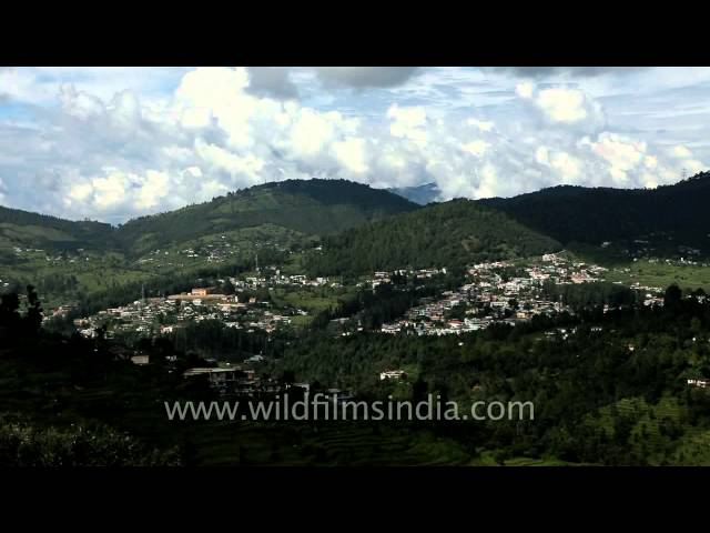 Top view of Lohaghat Travel Video